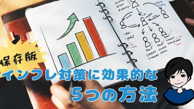 【保存版】インフレ対策に効果的な5つの方法-min